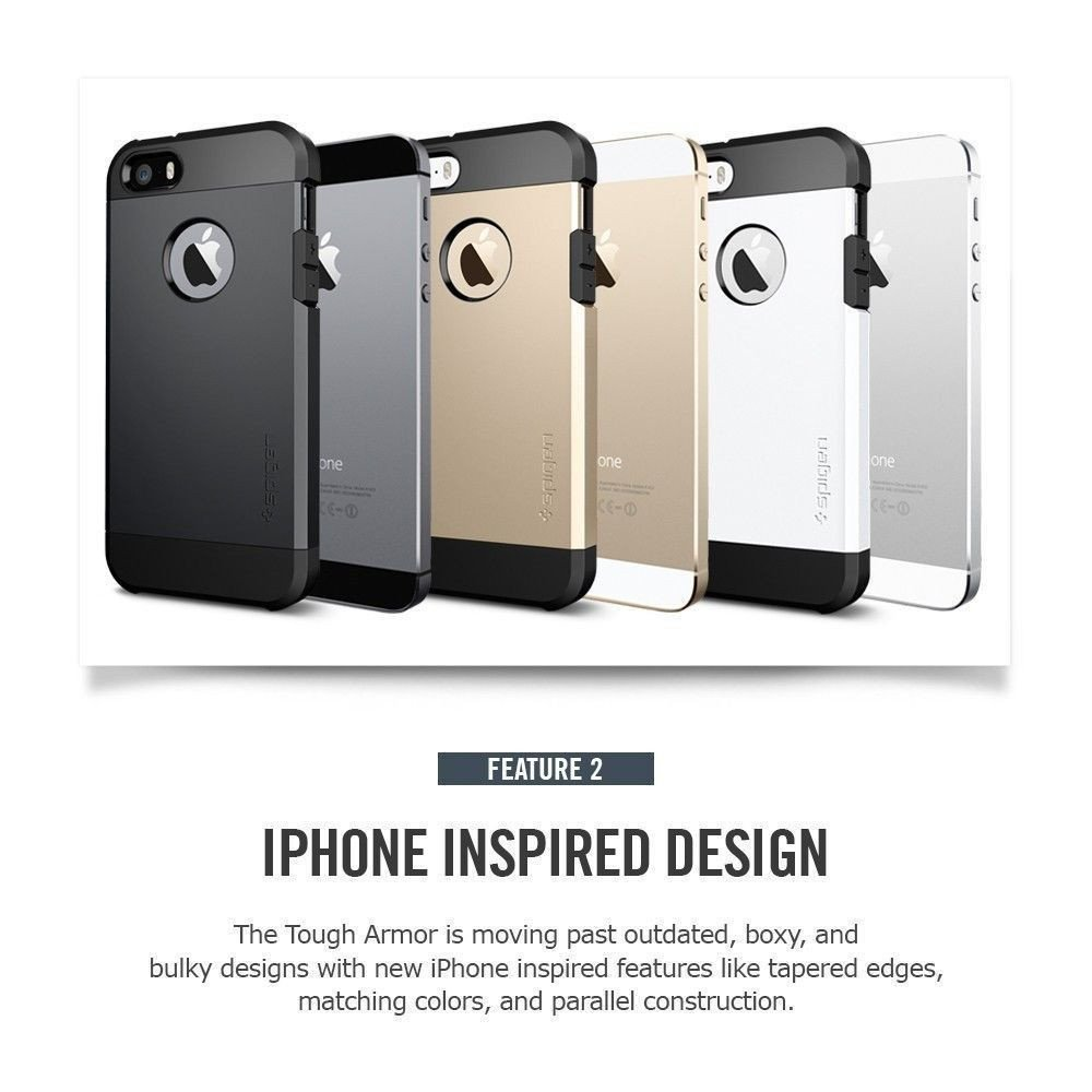 spigen tough armor iphone 5s spigen 174 apple iphone 5 5s se tough armor back cover 18029