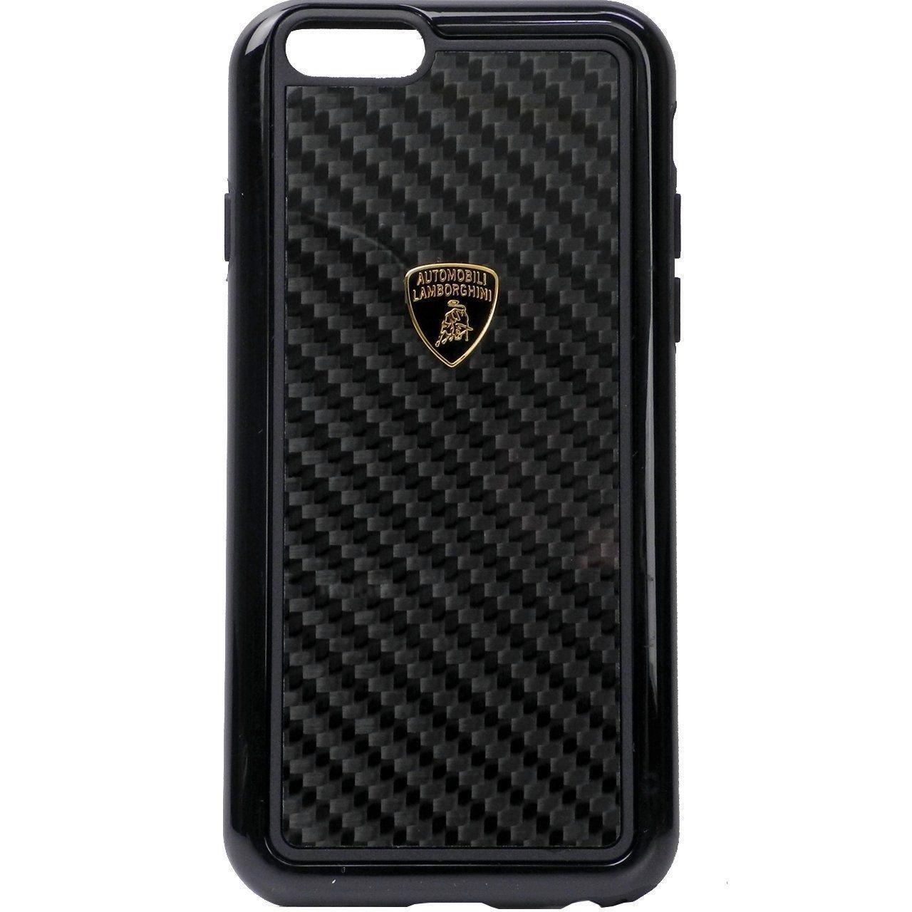 Lamborghini apple iphone 6 plus 6s plus official 3d carbon fiber limited edition case back cover
