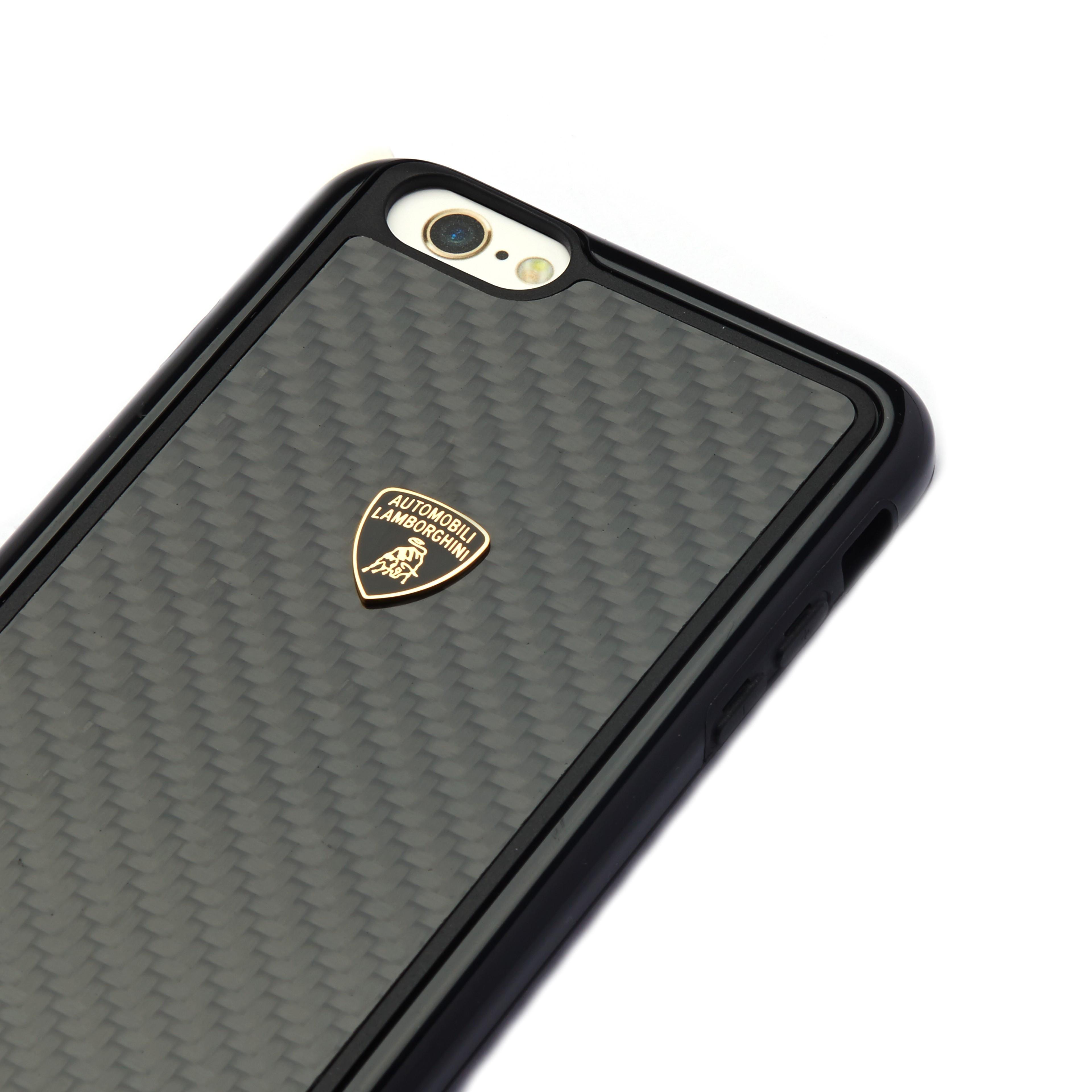 Lamborghini 174 Apple Iphone 6 Plus 6s Plus Official 3d Carbon Fiber Limited Edition Case Back Cover