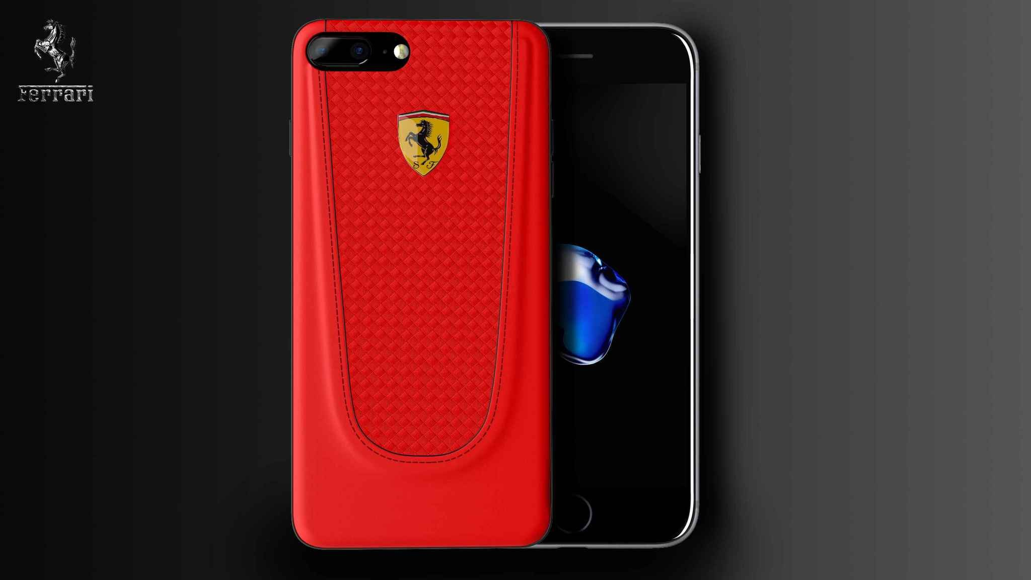Ferrari ® Apple iPhone 7 Plus Official California T Series ...