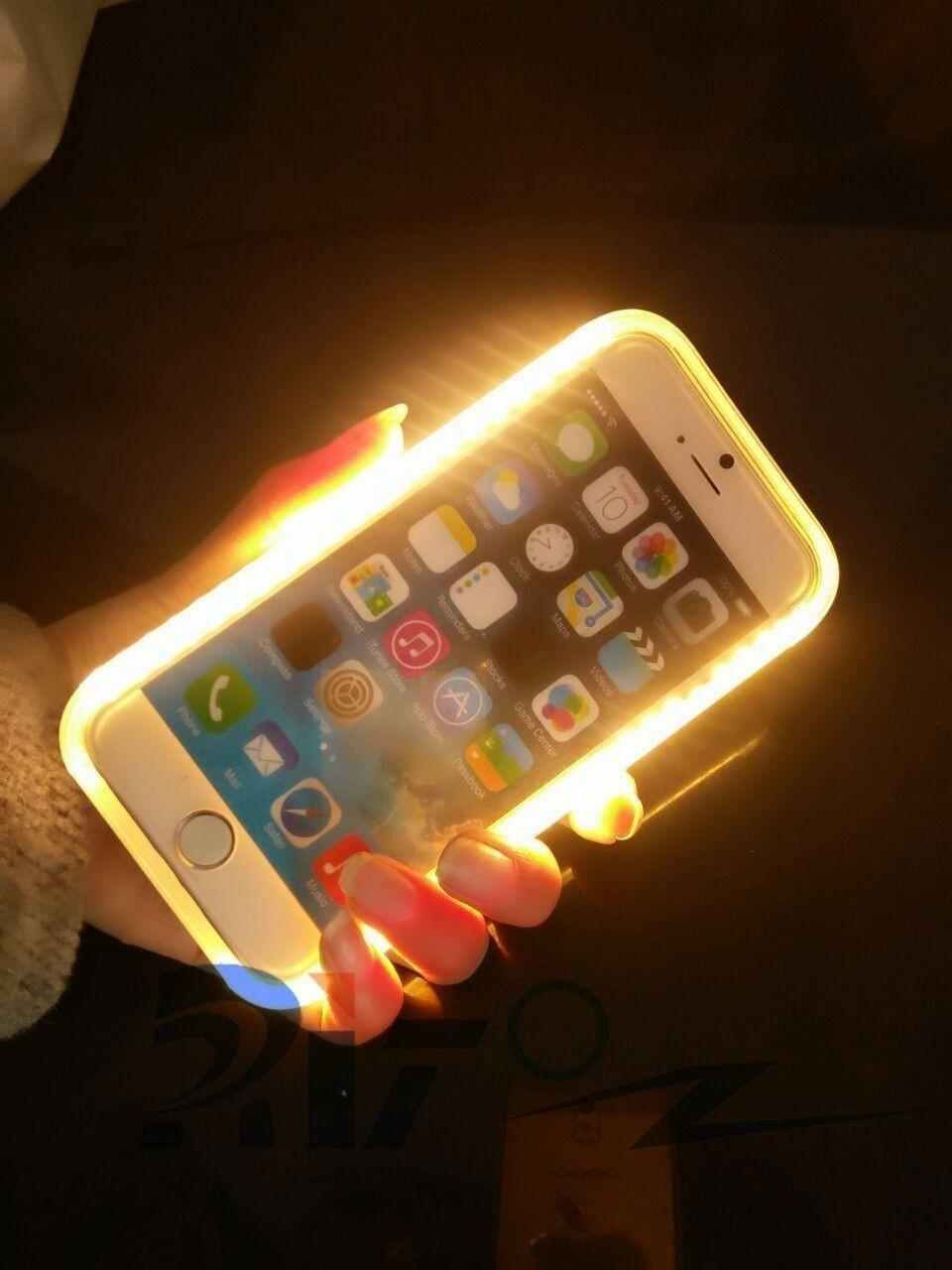 Light Amp Sexy 174 Apple Iphone 6 6s 46 Led Ultra Bright Selfie Dark Flash Light With Inbuilt