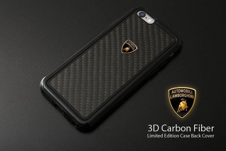 Lamborghini 174 Apple Iphone 6 6s Official 3d Carbon Fiber Limited Edition Case Back Cover