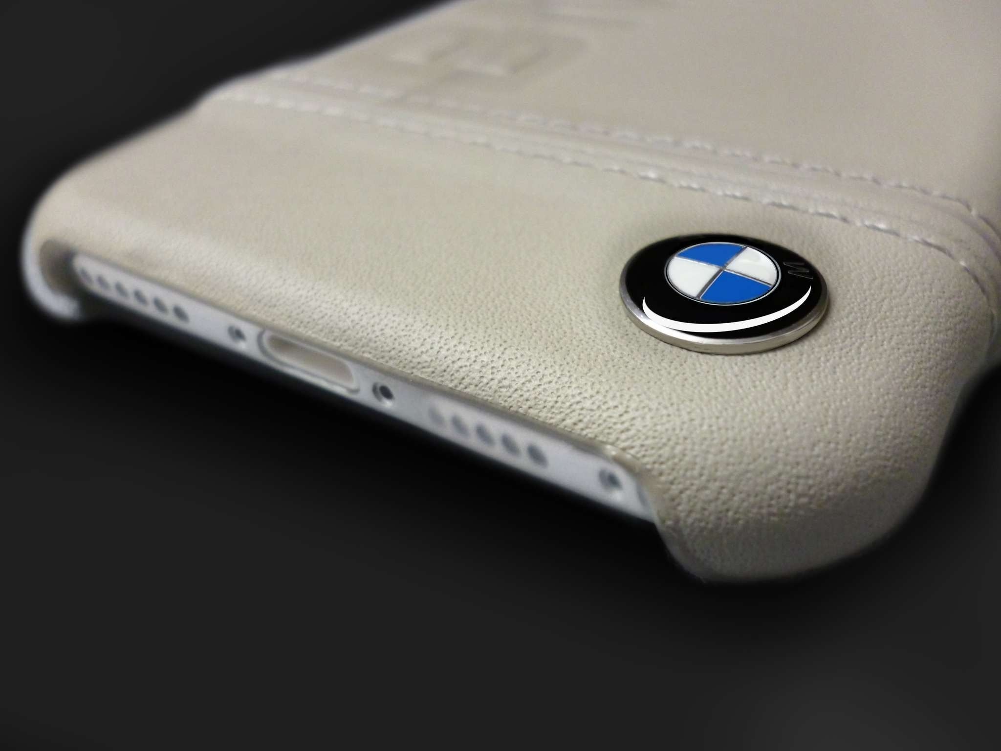 bmw 174 apple iphone 7 plus official racing leather case