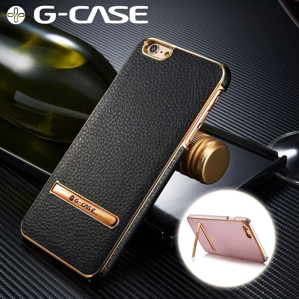 g case apple iphone 6 plus 6s plus ultra thin leather. Black Bedroom Furniture Sets. Home Design Ideas