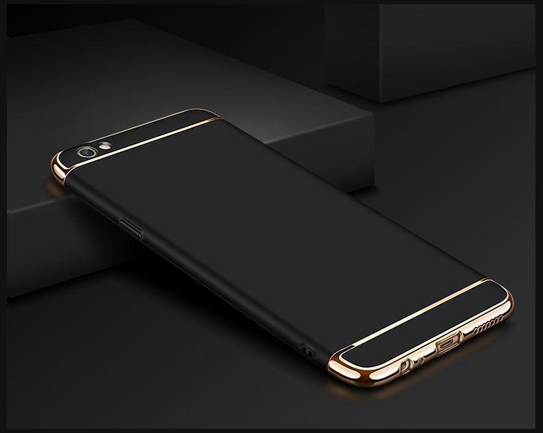 Vaku 174 Oppo F3 Ling Series Ultra Thin Metal Electroplating