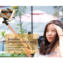 Baseus ® Selfie Stick Pro Mono Pod Extendable with Wired Controller