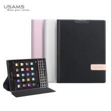 Usams ® Blackberry Passport Emug Series Smart Awakening Folio + inbuilt Stand Leather Flip Cover