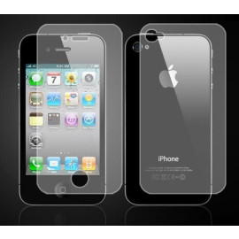Ortel ® Apple iPhone 4 / 4S Screen guard / protector for Front + Back