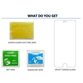 Ortel ® Karbonn A9 Star Screen guard / protector