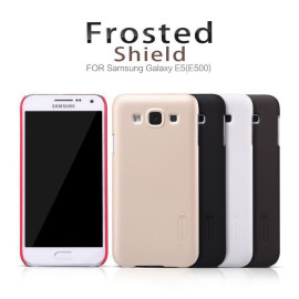 Nillkin ® Samsung Galaxy E5 Super Frosted Shield Dotted Anti-Slip Grip PC Back Cover