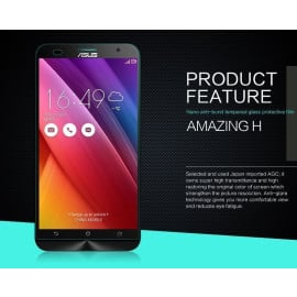 Dr. Vaku ® Asus Zenfone 2 Laser / ZE550KL Ultra-thin 0.2mm 2.5D Curved Edge Tempered Glass Screen Protector Transparent