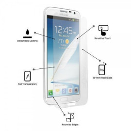 Dr. Vaku ® Samsung Galaxy S2 Ultra-thin 0.2mm 2.5D Curved Edge Tempered Glass Screen Protector Transparent