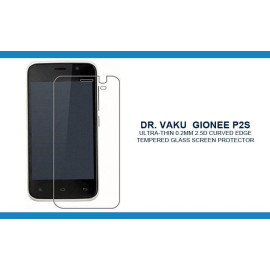 Dr. Vaku ® Gionee P2S Ultra-thin 0.2mm 2.5D Curved Edge Tempered Glass Screen Protector Transparent