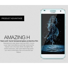 Dr. Vaku ® Huawei Ascend G7 Ultra-thin 0.2mm 2.5D Curved Edge Tempered Glass Screen Protector Transparent