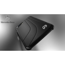 Mercedes Benz ® Apple iPhone 6 / 6S Redressa Series Premium Leather Drop Line Technology Case Back Cover