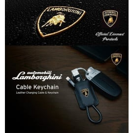 Lamborghini ® Official Ultra-Portable Keychain Style Android/Windows Micro USB Charging / Data Cable