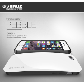 Verus ® Apple iPhone 6 Plus / 6S Plus Pebble Curved Ultra Glossy + Inbuilt Cardholder Back Cover