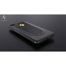 Ferrari ® Apple iPhone 7 Plus Official California T Series Double Stitched Dual-Material PU Leather Back Cover