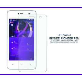 Dr. Vaku ® Gionee Pioneer P2M Ultra-thin 0.2mm 2.5D Curved Edge Tempered Glass Screen Protector Transparent