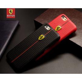 Ferrari ® Apple iPhone 6 / 6S Formula One Carbon Fiber 3D Layer Case Back Cover