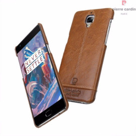 Pierre Cardin ® OnePlus 3 / 3T Paris Design Premium Leather Case Back Cover