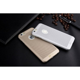 ioop ® Apple iPhone 6 Plus / 6S Plus Perforated Series Logo Display PC Heat Dissipation Hollow Back Cover