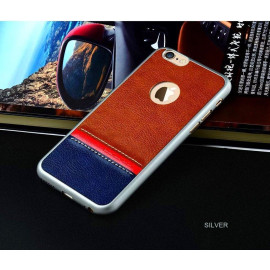 WUW ® Apple iPhone 6 / 6S K31 Fashion series Multi-Colour leather & Thin Grip Back Cover