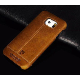 Pierre Cardin ® Samsung Galaxy S6 / S6 Edge / S6 Edge Plus Paris Design Premium Leather Case Back Cover