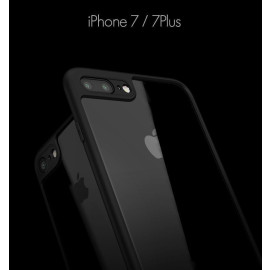 Vaku ® Apple iPhone 7 Plus AMARINO Series Top Quality Soft Silicone  4 Frames plus ultra-thin case transparent cover