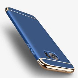 Vaku ® Samsung Galaxy S6 Edge Ling Series Ultra-thin Metal Electroplating Splicing PC Back Cover