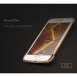 Joyroom ® Apple iPhone 6 / 6S Ultra-thin Screw-less 24K Electroplated Aircraft Grade Aluminium Frame Bumper Case / Cover