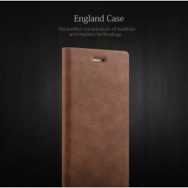 Joyroom ® Apple iPhone 6 / 6S England Folio with Stand + Credit Card Slot Magnetic Flip Cover
