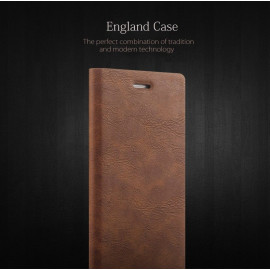 Joyroom ® Apple iPhone 6 Plus / 6S Plus England Folio with Stand + Credit Card Slot Magnetic Flip Cover