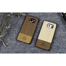 Kajsa ® Samsung Galaxy S6 Outdoor Natural Wood Series Protective Case Back Cover