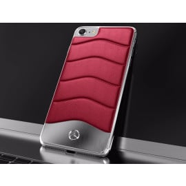 Mercedes Benz ® Apple iPhone 7 Concept S Coupe Series Electroplated Metal + Leather Hard Case Back Cover