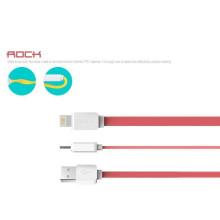 Rock ® Smart Safe Apple Lightning Port Flat Charging / Data Cable