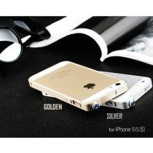 Totu ® Apple iPhone 5 / 5S / SE Premium Blue Diamond Aluminium Bumper Case / Cover