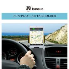 Baseus ® Funplay Vacuum Suction with Auto-Expander PC Grip 7-10inch iPad/Android Tablet Holder / Mount Black