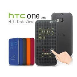 DotView ™ HTC One M8 Dot View LED Case Flip Cover