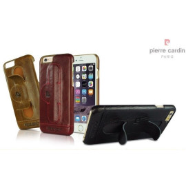 Pierre Cardin ® Apple iPhone 6 Plus / 6S Plus Paris Design Premium Leather Case with Inbuilt Stand Back Cover
