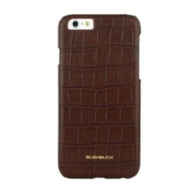 Bushbuck ® Apple iPhone 6 / 6S Stone Patterned Caiman Premium Leather Back Cover