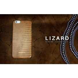 Bushbuck ® Apple iPhone 6 Plus / 6S Plus Lizard Textured Design Premium Leather Back Cover
