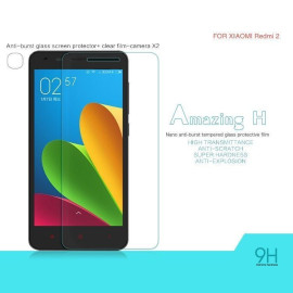 Dr. Vaku ® Xiaomi Redmi 2 Ultra-thin 0.2mm 2.5D Curved Edge Tempered Glass Screen Protector Transparent