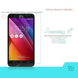Dr. Vaku ® Asus Zenfone 2 / ZE550ML Ultra-thin 0.2mm 2.5D Curved Edge Tempered Glass Screen Protector Transparent