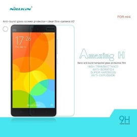 Dr. Vaku ® Xiaomi Mi4i Ultra-thin 0.2mm 2.5D Curved Edge Tempered Glass Screen Protector Transparent