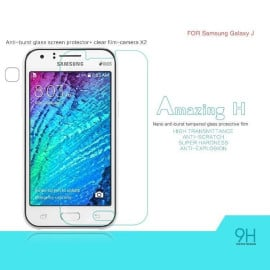 Dr. Vaku ® Samsung Galaxy J Ultra-thin 0.2mm 2.5D Curved Edge Tempered Glass Screen Protector Transparent