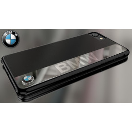 BMW ® Apple iPhone 7 Official M5 Touring G-Power Leather + Chrome Case Limited Edition Back Cover