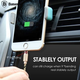 Baseus ® Insnap Series 1M Magnetic Auto-Adhesion 2.4A Quick Charge & Data Sync Android/Windows Micro USB Charging / Data Cable