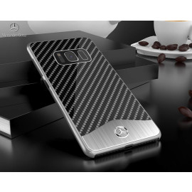 Mercedes Benz ® Samsung Galaxy S8 Plus SLR McLaren Carbon Fibre (Limited Edition) Electroplated Metal Hard Case Back Cover