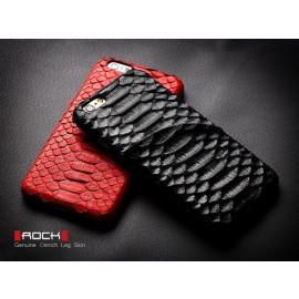 Rock ® Apple iPhone 6 / 6S DRY & CO Genuine Ostrich Leg Skin Leather + Inbuilt Card Slot Back Cover